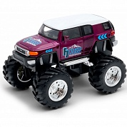 Welly Модель машины 1:38 Toyota FJ Cruiser Big Wheel Monster 47003S с 3 лет