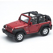 Welly Модель машины 1:34-39 Jeep Wrangler Rubicon 42371 с 3 лет