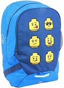 LEGO Рюкзак School Backpack 16 л Faces/Blue 10048-2006